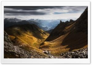 Valley, Pizol Mountain,...