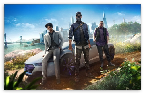 Download WATCH DOGS 2 Human Conditions DLC video game UltraHD Wallpaper