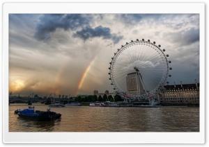 London Eye And Rainbows