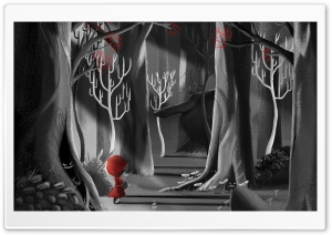 Red Riding Hood Painting