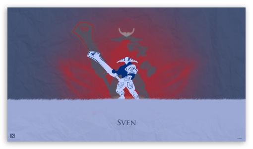Download Sven - DotA 2 UltraHD Wallpaper