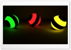 Glowing Marbles