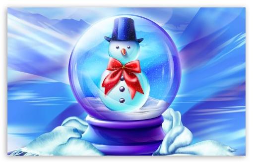 Download Snow Globe UltraHD Wallpaper