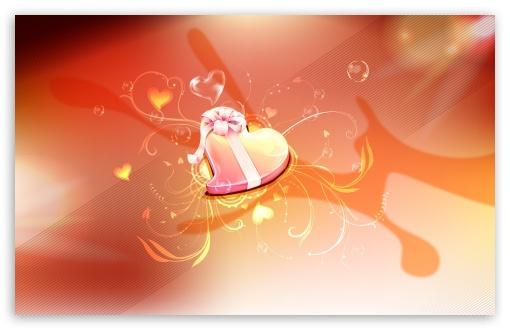 Download Heart Gift UltraHD Wallpaper