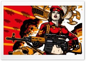 RA3 Soviet Army Girl