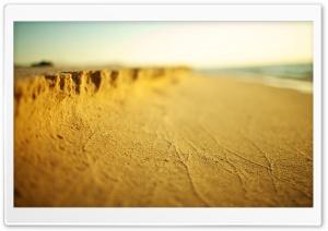 Beach Sand Tilt Shift