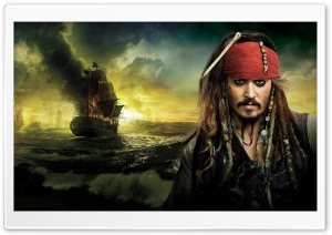 Johnny Depp, Pirates Of The...