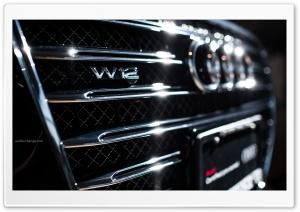 Audi A8 W12 Badge