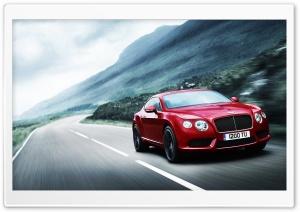 2012 Red Bentley Continental