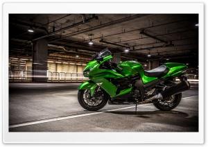 Lime Green Kawasaki Ninja...