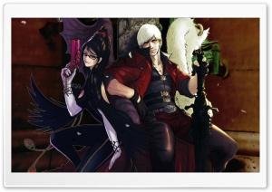 Bayonetta And Dante   Devil...