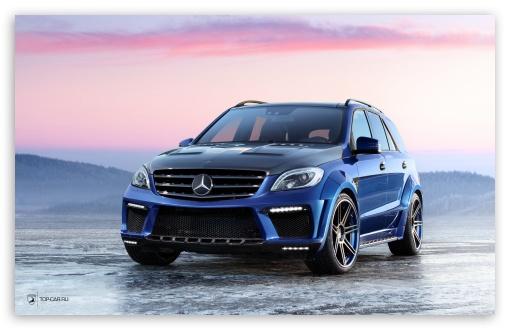 Download Mercedes Benz ML 63 AMG Inferno UltraHD Wallpaper