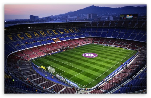 Download Camp Nou in Barcelona, Spain UltraHD Wallpaper