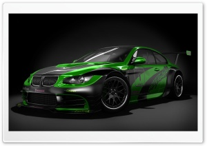 Black And Green Tuned BMW