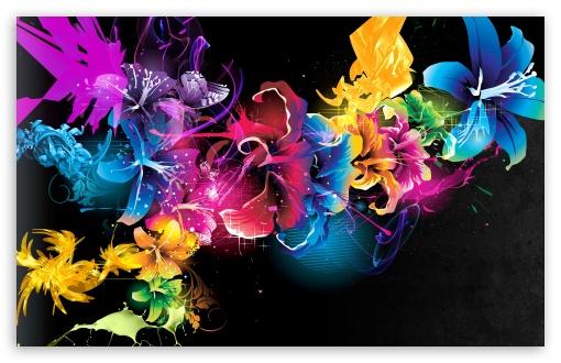 Download Colorful Flowers UltraHD Wallpaper