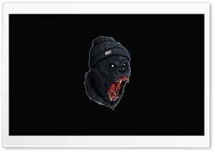 Angry Gorilla Roaring