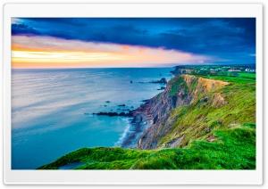 Coast, Cornwall, England,...
