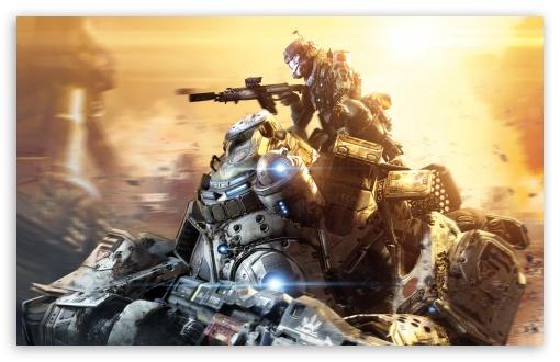 Download Titanfall Titans 2014 video game UltraHD Wallpaper