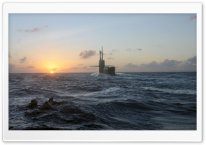 US Military Submarine
