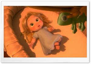 Tangled Baby Rapunzel