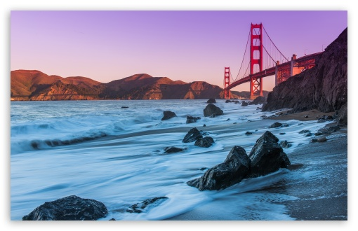 Download Golden Gate Bridge, San Francisco UltraHD Wallpaper