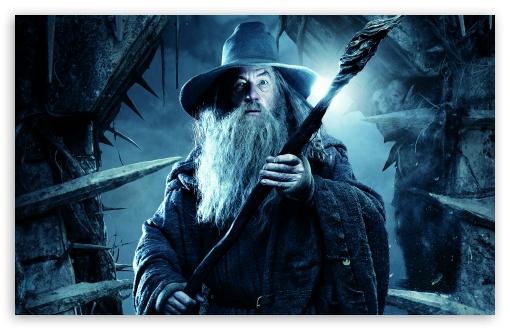 Download THE HOBBIT THE DESOLATION OF SMAUG Gandalf... UltraHD Wallpaper