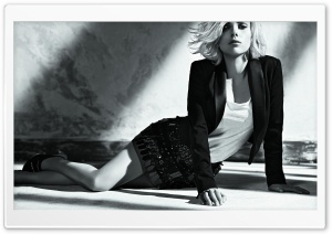 Scarlett Johansson Black And...