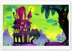 Spooky House Cartoon