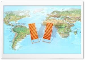 Relax, Travel, WorldWide Map
