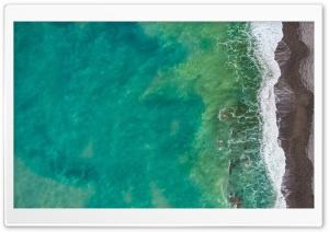 Sea, Beach, Italy, Aerial View
