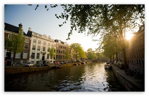 Download Herengracht, Amsterdam   Summer 2011 UltraHD Wallpaper