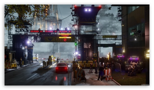 Download Infamous Second Son UltraHD Wallpaper