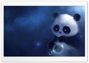 Sad Panda Painting