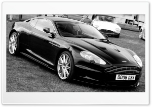 Aston Martin DBS Black