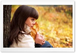 Romantic Woman Autumn