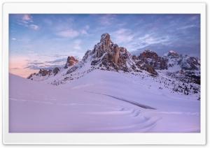 Mountain Peak, Snow, Winter