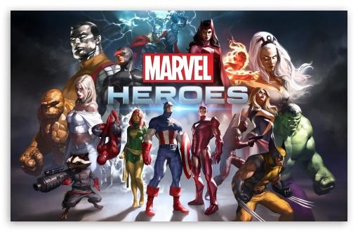 Download Marvel Heroes Game 2014 UltraHD Wallpaper