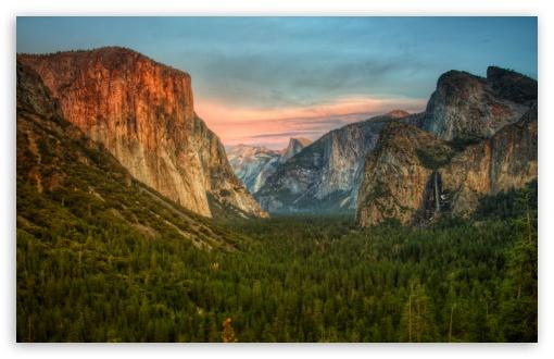 Download Yosemite Valley View UltraHD Wallpaper