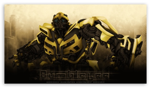 Download Bumblebee UltraHD Wallpaper