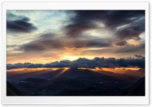 Beautiful Sunrise over Torridon