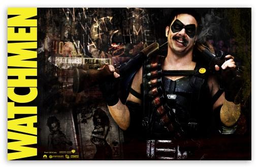 Download Edward Blake As The Comedian Watchmen UltraHD Wallpaper