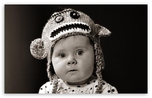 Download Cute Baby UltraHD Wallpaper