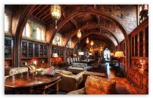 Download The Gothic Study Of William Randolph Hearst UltraHD Wallpaper