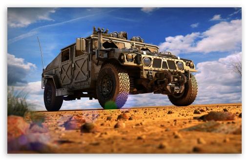 Download Military Hummer UltraHD Wallpaper
