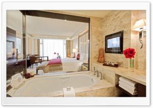 Glass Walls Bathroom
