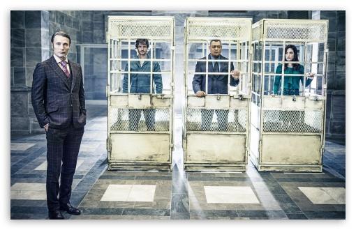 Download Hannibal TV Show Cast UltraHD Wallpaper