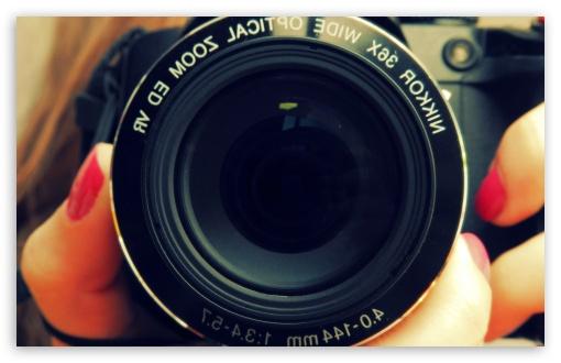 Download Nikon Lens UltraHD Wallpaper