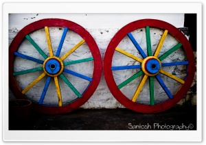 Colorful Wheels