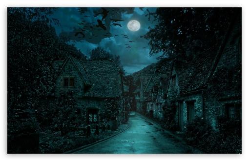 Download The Dark Village UltraHD Wallpaper