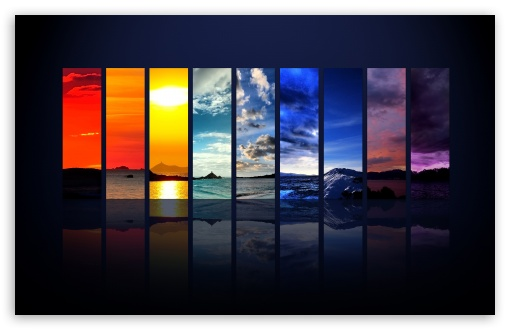 Download Spectrum Of The Sky UltraHD Wallpaper